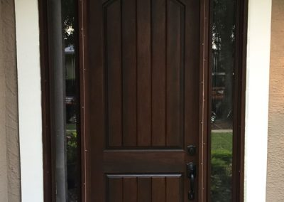 New Entry Door After Replacement