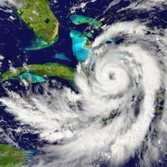 Hurricane approaches Florida