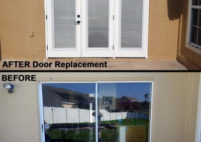 Before & After Door Replacement