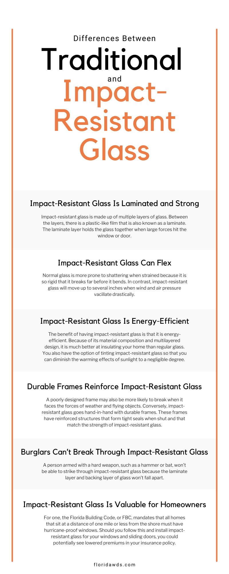 Differences Between Traditional and Impact-Resistant Glass