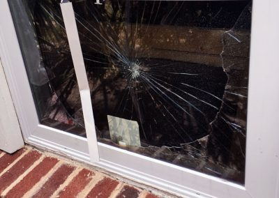 Thieves were thwarted with our Burglar Proof Windows!