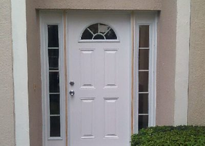 Front Entry Door with Sidelights