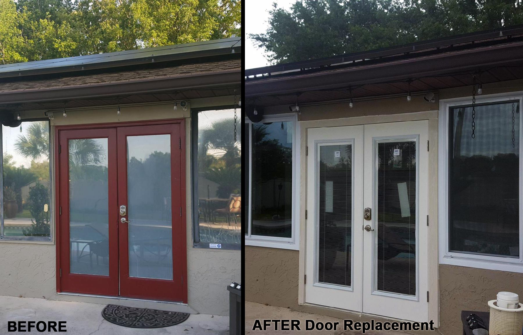Before U0026 After French Door Replacement