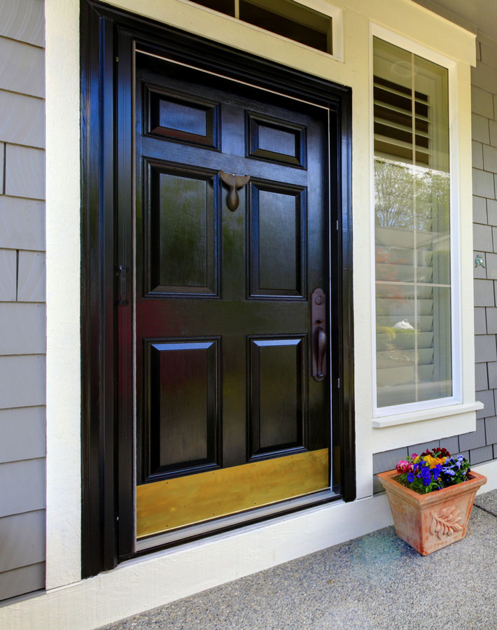 Entry Doors with added security